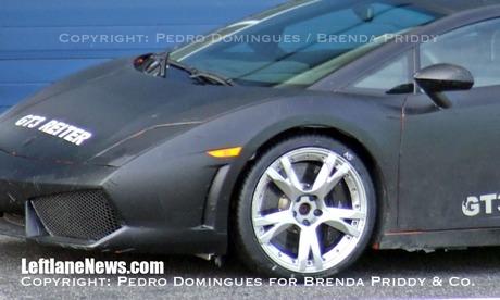 Primeras fotos espía del Lamborghini Gallardo LP550