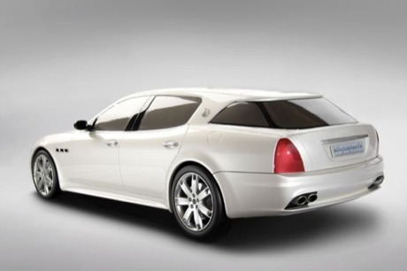 Maserati Cinqueporte, primeras fotos oficiales