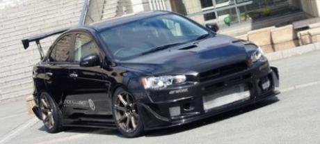 Mitsubishi Evo X Black Illusion