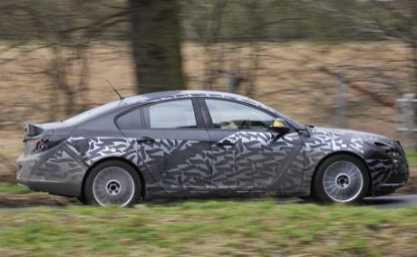 Fotos espía oficiales del Opel Insignia