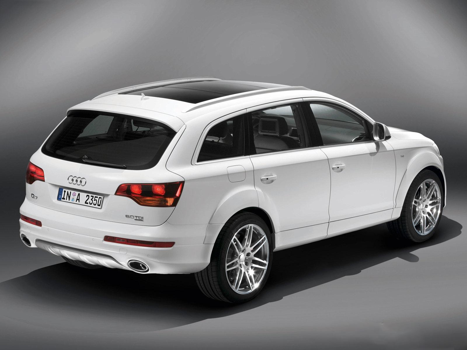 Audi Q7 V12 TDI, información y galería de imágenes