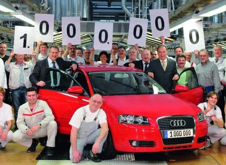 Audi A3 un millón
