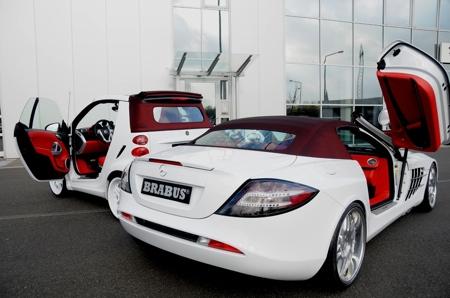 "BRABUS McLaren SLR Roadster y ULTIMATE 112 ""tender"""