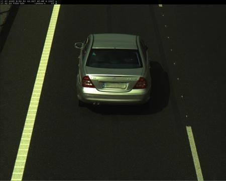Mercedes C32 AMG Radar
