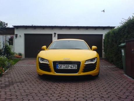 Audi R8 Imola Yellow