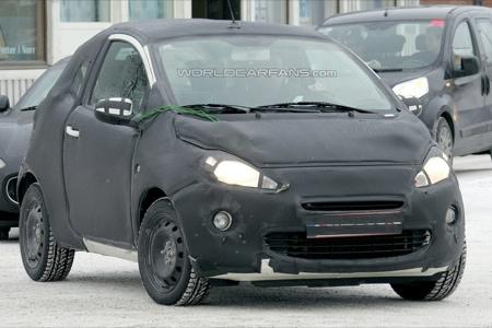 Más fotos espía del Ford Ka (también del interior)