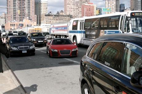 Cazado: Audi R8 V12 TDI en Nueva York