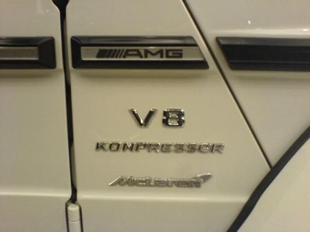 Mercedes G55 AMG McLaren