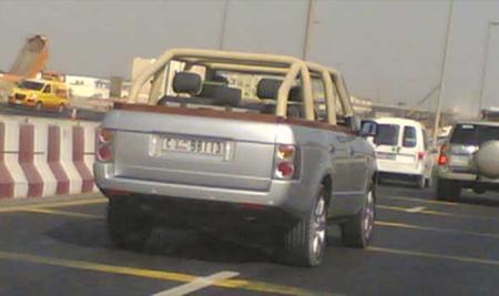 Range Rovers descapotables, sólo en Dubai