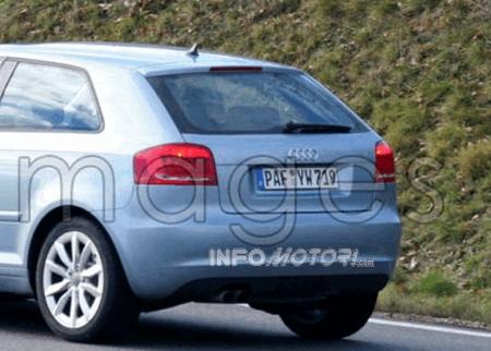 Audi continúa preparando el lavado de cara del A3