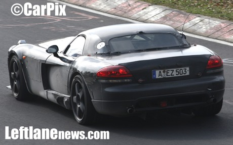 En el 'Ring: Mercedes SLC