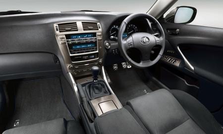 Lexus IS 250 SR, sólo para Reino Unido