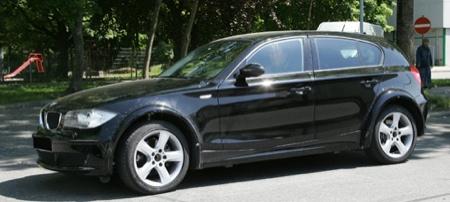 BMW Serie 1 espía