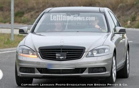 Mercedes Clase S 2010, fotos espía