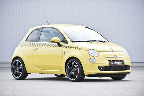 Hamann's Fiat 500 Amarillo