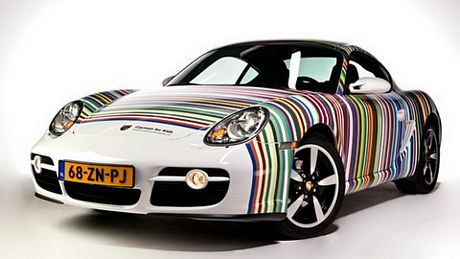 Porsche Cayman For Kids 007