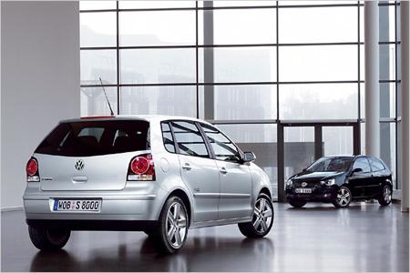 Volkswagen Polo Black/Silver