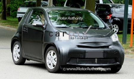 Toyota iQ, fotos espía