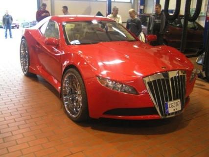 Mercedes CL lituano
