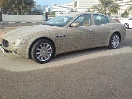 Maserati Quattroporte Burberry