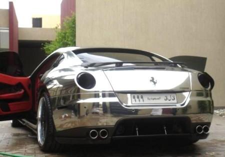 Ferrari 599 GTB cromado