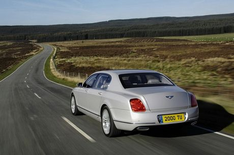 Bentley presenta el Flying Spur 2009 y el Flying Spur Speed