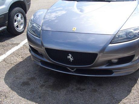 Con vosotros, el nuevo Ferrari RX-8