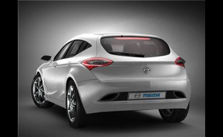 Posibles imágenes del prototipo del Mazda3