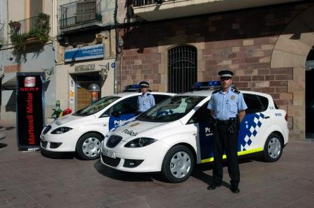 SEAT Toledo policía