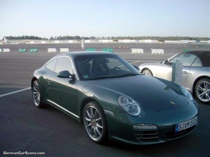 El nuevo Porsche 911 Targa cazado