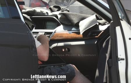 Mercedes Clase E interior