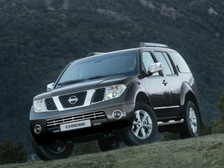 Nissan Pathfinder Chrome