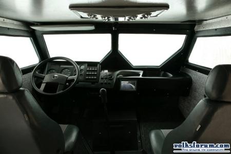 Volkswagen 9150 ECE Armored Truck