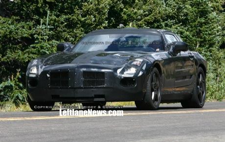Más información y nuevas fotos espía reveladoras del Mercedes SLC