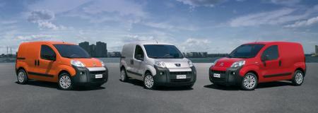 Citroën Nemo, Peugeot Bipper y Fiat Fiorino