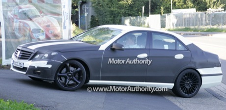 Nuevas fotos espía del Mercedes E63 AMG