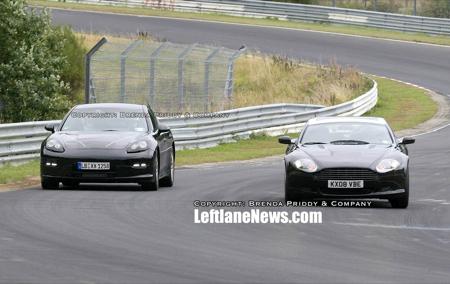 Aston Martin Rapide Porsche Panamera