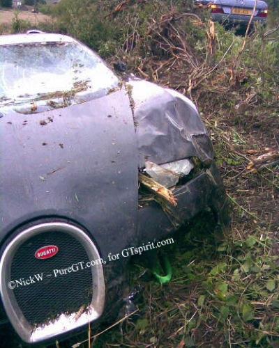 Accidente  Bugatti Veyron