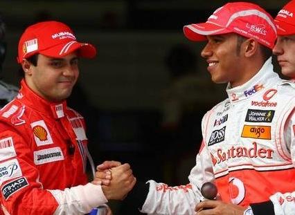 Hamilton y Massa