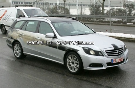 Mercedes Clase E familiar