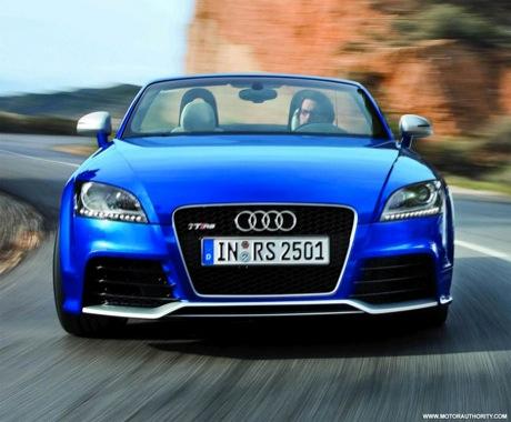 En Azul Nuevas Fotos Del Audi Tt Rs