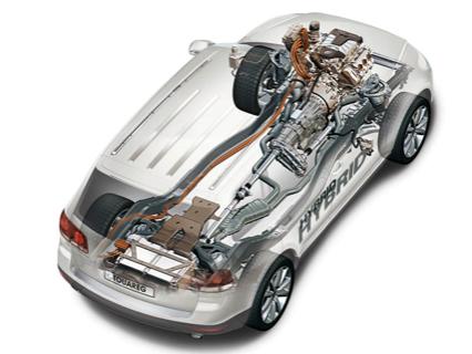 VW Touareg BlueMotion Hybrid