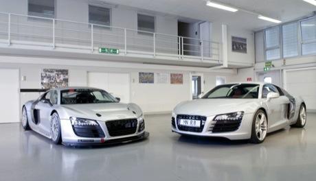 Audi A8 LMS