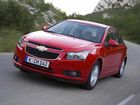 Chevrolet Cruze, precios para España berlinas sedanes
