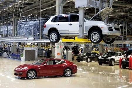 Comienza la producción del Porsche Panamera