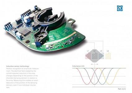 Tecnología de sensores de ZF Electronics en la nueva clase E de Mercedes
