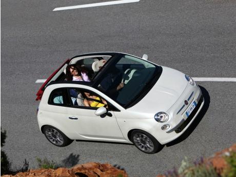 Más  información del lanzamiento del Fiat 500C fiat