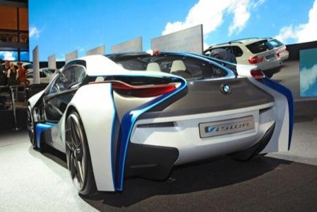 BMW Vision Efficient Dynamics, presentado