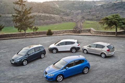 España: el SEAT Altea, Altea XL y León reciben nuevos propulsores  compactos