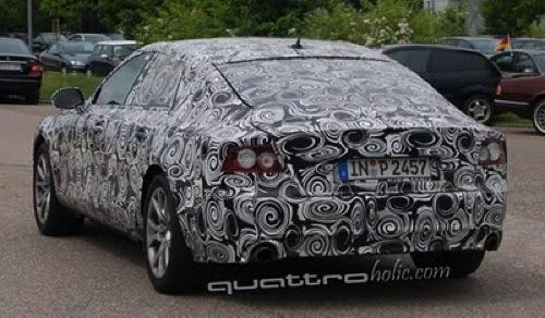 Audi A7 Spy Tail Lights header